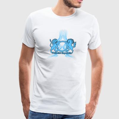 BlueSmokeARLogo - Men's Premium T-Shirt