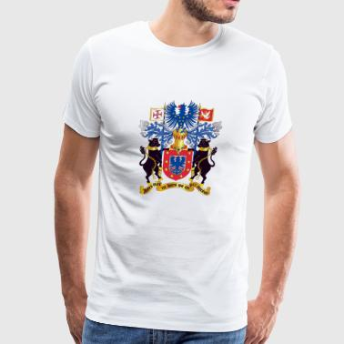 Azorean Coat of Arms (Brasão de Armas dos Açores) - Men's Premium T-Shirt