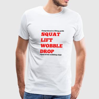 squat - Men's Premium T-Shirt