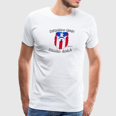 Puerto Rico Beard Gang - Men's Premium T-Shirt