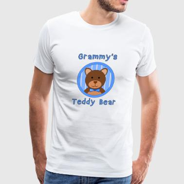 Grammy s Teddy Bear Boy - Men's Premium T-Shirt
