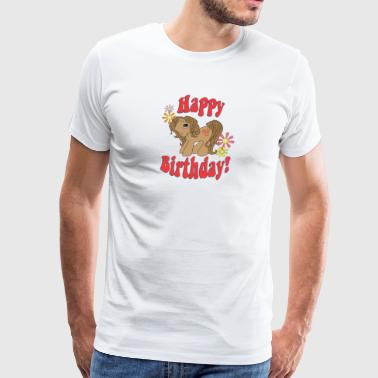 Happy Birthday 4 - Men's Premium T-Shirt