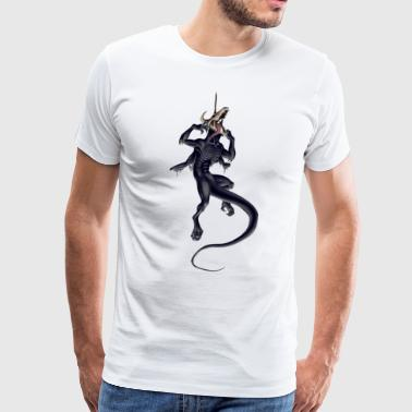 Zombie Dragon - Men's Premium T-Shirt