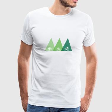 Mountain Bike mtb bicycle - Men's Premium T-Shirt
