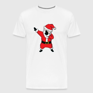 Come On Dabbing With Santa Clausa - Men's Premium T-Shirt
