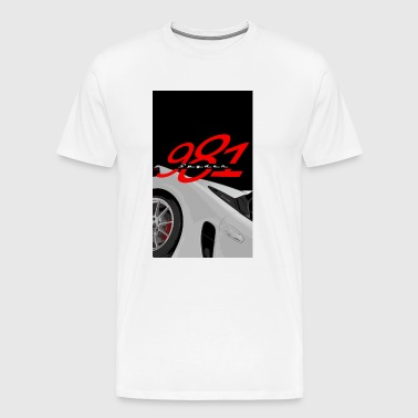 Porsch spyder 981 Design - Men's Premium T-Shirt