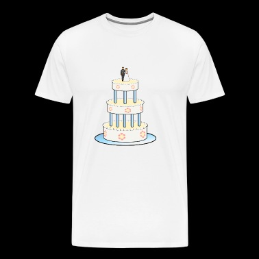wedding engagement love valentine marriage bride72 - Men's Premium T-Shirt
