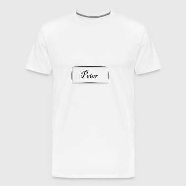 Peter - Men's Premium T-Shirt