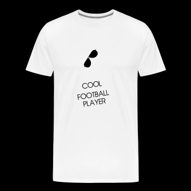Cool football player sunglass black gift - Men's Premium T-Shirt