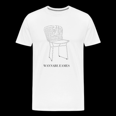 Wannabe Eames Chair - Men's Premium T-Shirt