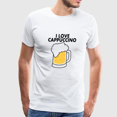 love cappuccino - Men's Premium T-Shirt