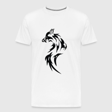 Wolf Dog Fox - Men's Premium T-Shirt