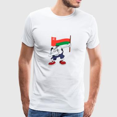 Oman Dabbing Soccer Ball - Men's Premium T-Shirt