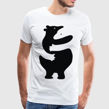 Bear Hug - Men's Premium T-Shirt