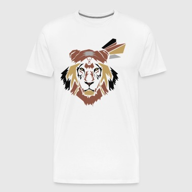 Warrior Lion - Men's Premium T-Shirt