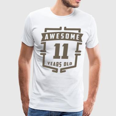 Awesome 11 Years Old - Men's Premium T-Shirt