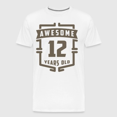 Awesome 12 Years Old - Men's Premium T-Shirt