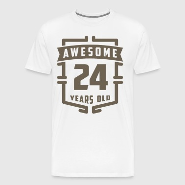 Awesome 24 Years Old - Men's Premium T-Shirt