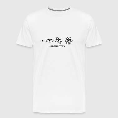React JS unique design - Men's Premium T-Shirt
