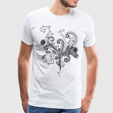Flower bouquet - Men's Premium T-Shirt