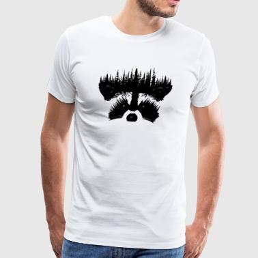 Raccoon - Men's Premium T-Shirt