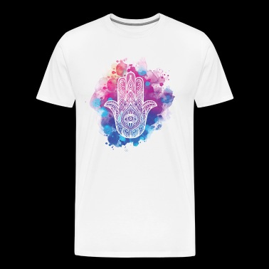 Hamsa Hand of Fatima - Men's Premium T-Shirt