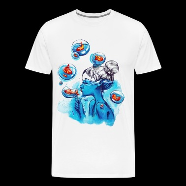 bubbles - Men's Premium T-Shirt