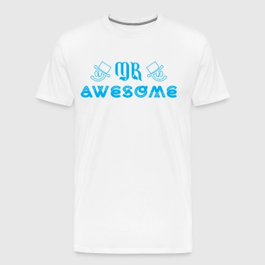 Mr Awesome - Men's Premium T-Shirt