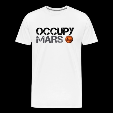 ocuppy mars - Men's Premium T-Shirt