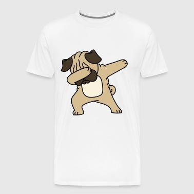 Pug Dab - Men's Premium T-Shirt