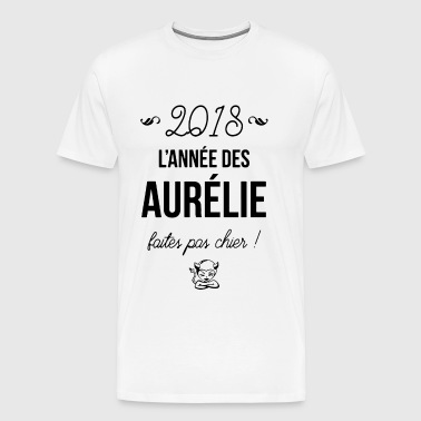 2018 lannee des aurelie faiter pas chier paris t s - Men's Premium T-Shirt
