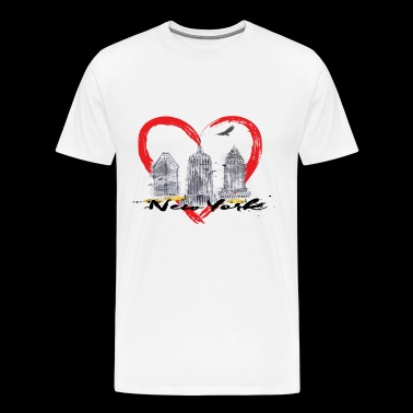 love NYC - Men's Premium T-Shirt