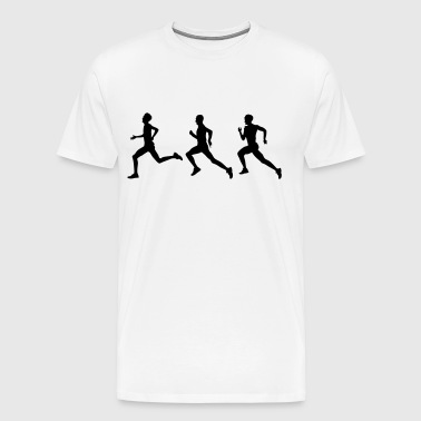 runners - Men's Premium T-Shirt