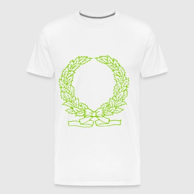 Wreath - Men's Premium T-Shirt