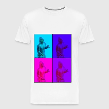 Pink Guy - Warhol - Men's Premium T-Shirt