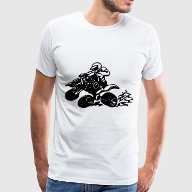 Four Wheeling / Beach Vehicle - Men's Premium T-Shirt