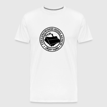 Collingwood Sidelaunch Ship - Men's Premium T-Shirt
