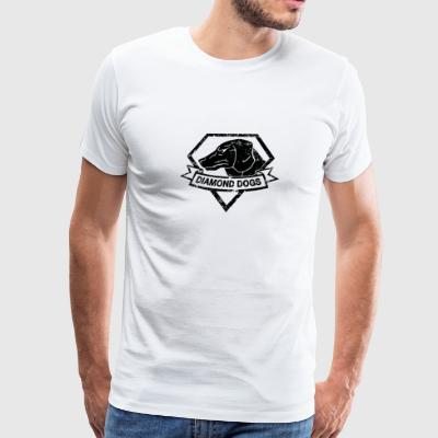Diamond Black T shirt - Men's Premium T-Shirt