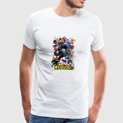 my hero academia - Men's Premium T-Shirt