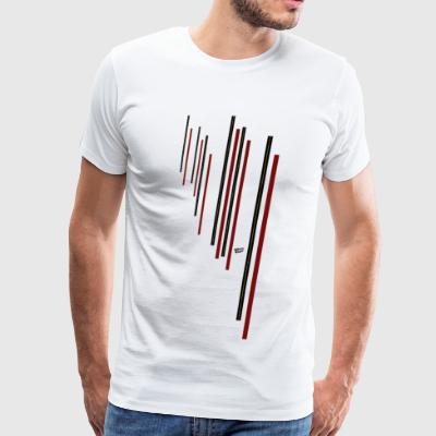 Christmas Red Minimalism - Men's Premium T-Shirt