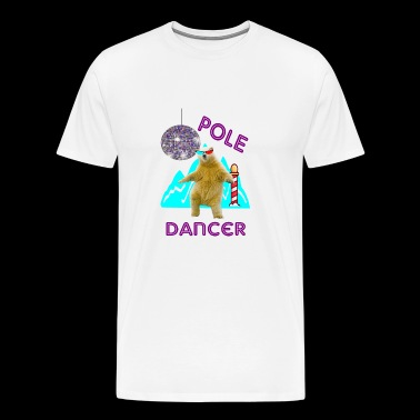 pole dancer - Men's Premium T-Shirt
