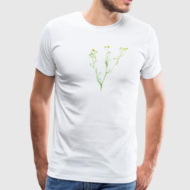Chamomile Flowers - Men's Premium T-Shirt