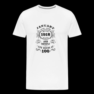Born In January - Men's Premium T-Shirt