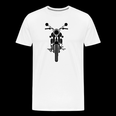Retro Motorcycle Design - Men's Premium T-Shirt