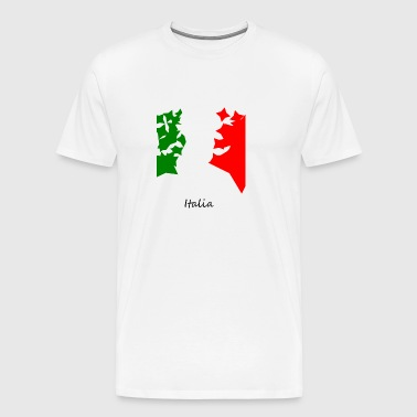 Italy flag - Men's Premium T-Shirt
