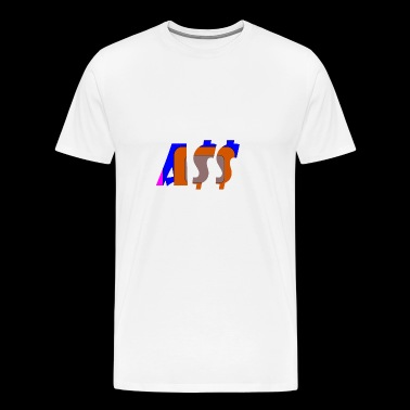 ass - Men's Premium T-Shirt