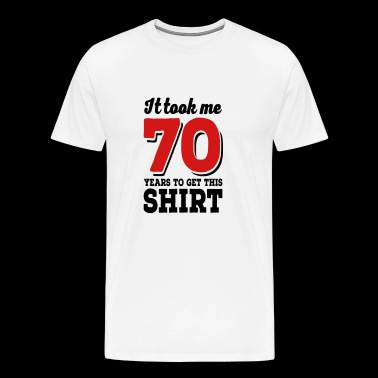 70th birthday - Men's Premium T-Shirt