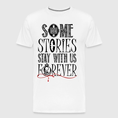The Vampire Diaries. Some stories.. - Men's Premium T-Shirt