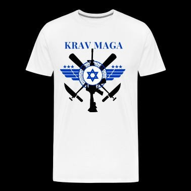 Krav Maga - Sticks Knives Guns - Men's Premium T-Shirt