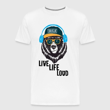 Live Life Loud Brklyn - Men's Premium T-Shirt